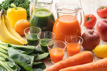 野菜と果実のスムージー