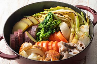 野菜の窯焼き