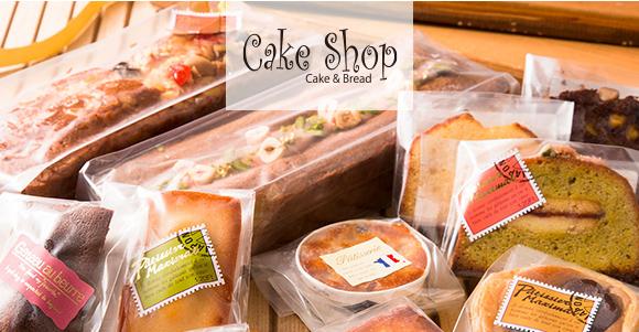 ケーキショップの画像