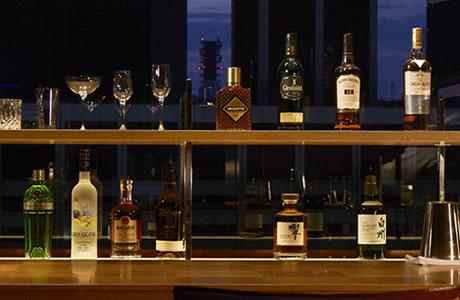 各種洋酒、日本酒など