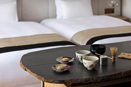八坂のお茶サービス