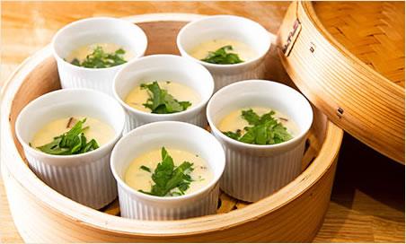 糸島卵の茶碗蒸し
