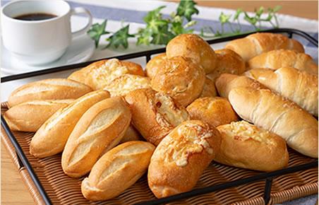 自社工場直送!こだわり小麦の自家製パン