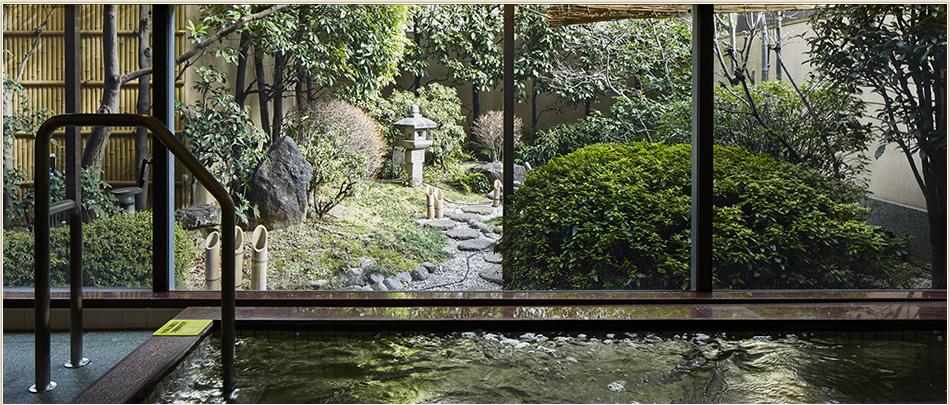 1F 庭園浴場(男性用)