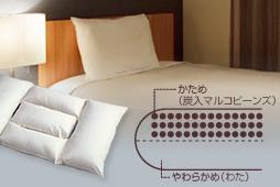 三井ガーデンホテルズオリジナル快眠枕のイメージ