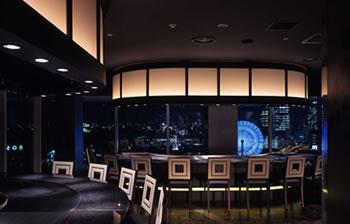 眺望が魅力のレストラン